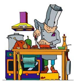 Busy Chef (cartoon)-Resized